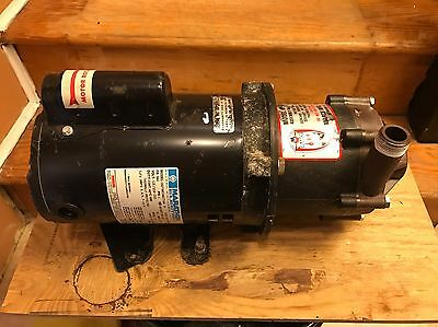 March Dp-6T-Md Single Phase Pump Motor Assembly 115/230 Vac 1/2 Hp