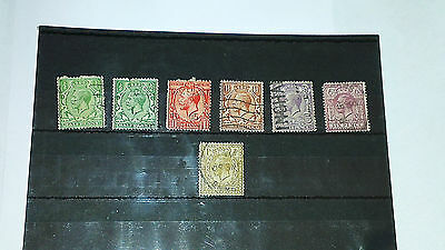 Gb Stamps 1912-22 Cypher Type