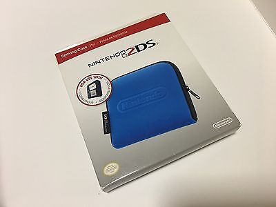 Blue Carrying Case for Nintendo 2DS Console - Video Game