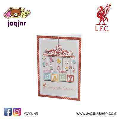 Official Liverpool FC Store - LFC Liverpool New Baby Card