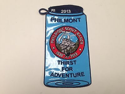 Philmont Scout Ranch 75th Anniversary Water Bottle Patch, Cimarron, New Mexico
