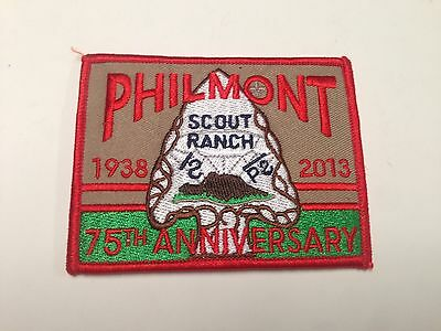 BSA Patch, Philmont Scout Ranch 75th Anniversary 2013, Cimarron, New Mexico NICE
