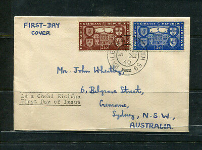 Ireland 1949 Fdc First Day Stamp Cover Republic Celebration