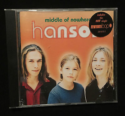 HANSON: Middle of Nowhere CD - Made in GERMANY! RARE!