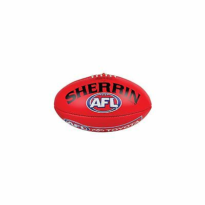 Official Sherrin Red AFL 2016 Game Ball
