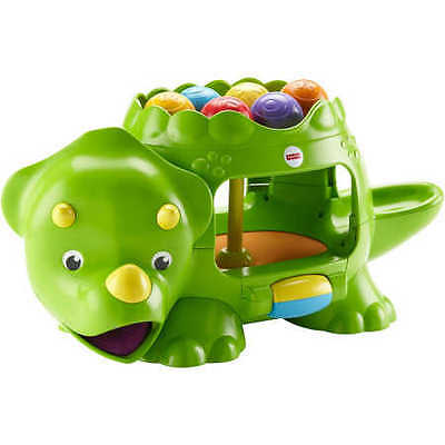 NEW Fisher-Price Go Baby Go! Poppity Pop Musical Dino