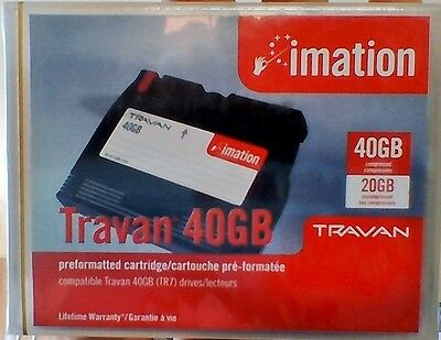 Imation 2467 Travan 40GB TR-7 Drives Compatible Cartridge Tape  67F005