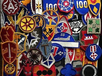 Lot of 40- Miscellaneous U.S. AIR FORCE PATCHES +