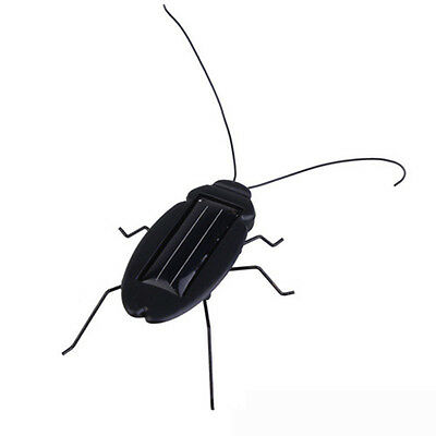 6 Legs Insect Bug Teaching Fun Gadget Kids Gift Solar Power Energy Cockroach