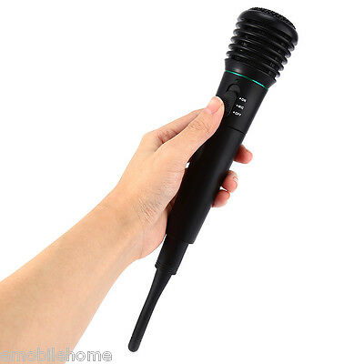 WM308 2 in 1 Wired Wireless Handheld Dynamic Microphone Receiver for Karaoke
