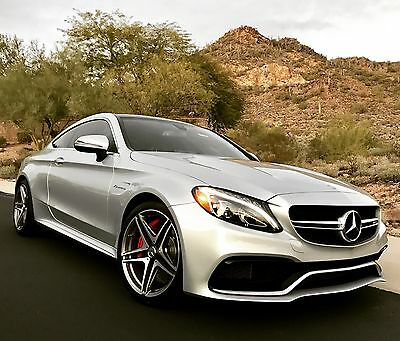 2017 Mercedes-Benz C-Class C63 S Coupe 2017 Mercedes AMG C63S Coupe - Premium 2, AMG Performance Exhaust, Incredible!