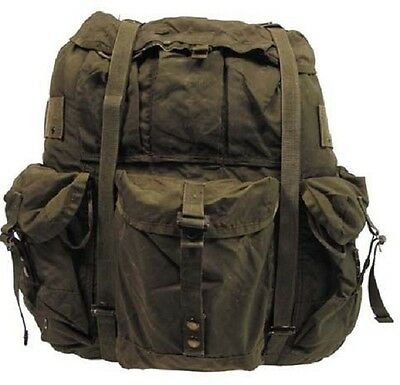 US Army ALICE Military Rucksack pack Large Alu w Tragegestell REFORGER oliv