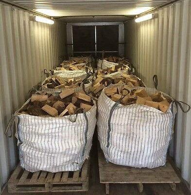 Kiln Dried Hardwood Logs - Bulk Bag (Delivery available)