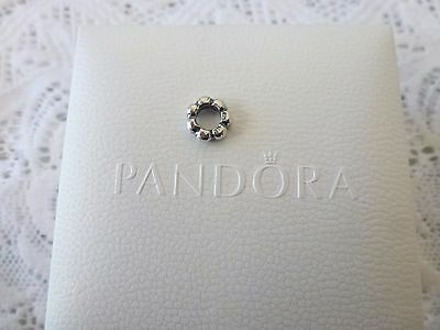 "Genuine Pandora Sterling Silver ""small Bubble Droplet Spacer""  Charm  #  790101"