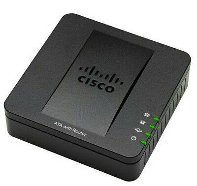 New Cisco Small Business SPA122 ATA with Router