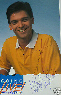 Phillip Schofield - Official BBC Going Live Photograph - Signed