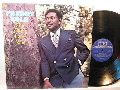 LP- Freddy Cole: One More Love Song - 1978 UK ( mint )