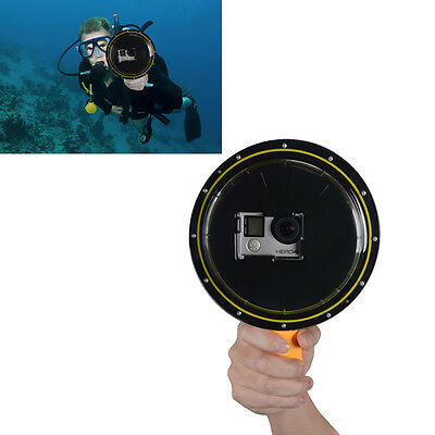 Diving Lens Dome Port Case for GoPro 4 3+ Session SJ4000 SJCAM Xiaoyi Universal