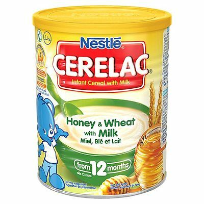 3 X Nestle Cerelac Honey and Wheat with Milk From 12 Months 400g