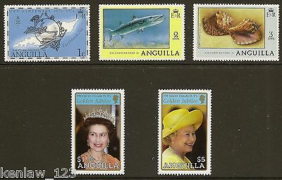 Anguilla 1974/2002  Commems (see list). MNH  Cat £8.40