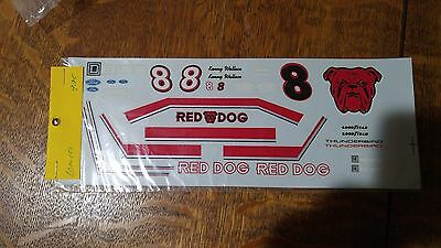 NASCAR Decals #8 Red Dog $1.00 Shipping