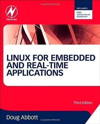 Linux for Embedded and Real-time Applications,PB,Doug Abbott - NEW