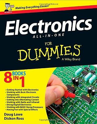 Electronics All-in-one For Dummies,PB,Dickon Ross, Doug Lowe - NEW