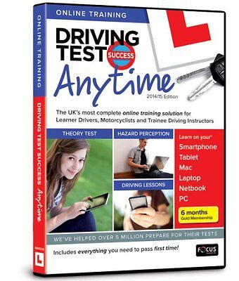 Driving Test Success Anytime 2014/15 Edition  - Online Subsription in retail pa