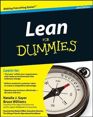 Lean For Dummies (2nd Revised edition),PB,Natalie J. Sayer, Bruce D Williams -