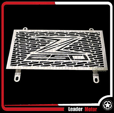 For Kawasaki Z250 2013-2015 Radiator Grille Guard Cover Fuel Tank Protection Net