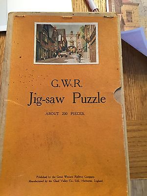 GWR Wooden Jigsaw puzzle about 200 pieces