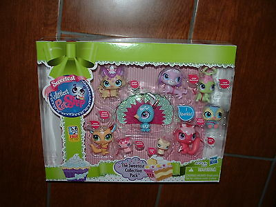Littlest Pet Shop SWEETEST COLLECTION 9 PETS INC SPARKLING PEACOCK 3000-3008