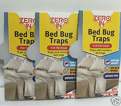 Stv Zero In Bed Bug Killer Traps Poison Free Trap And Kills Bed Bugs 3 Traps