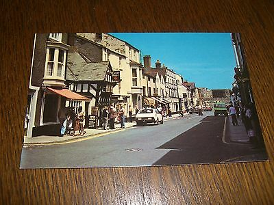 Vintage Postcard Beaumaris Anglesey Wales The High Street Real Photograph (RP)