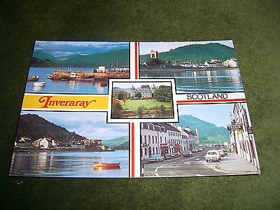 Vintage Postcard: Inveraray Scotland: Multiview