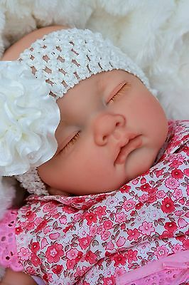 Butterfly Babies Stunning Reborn Baby Girl Doll Sofia In Spanish Dress