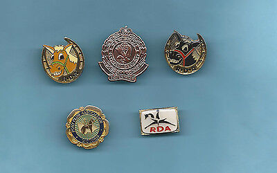 (Very Rare)5x Horse Badge/Pins, (RDA, Pony Club, NSW POLICE Olympics Equestrian)