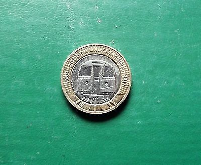 Gb £2 Coin London Underground Issued 2013 Circulated