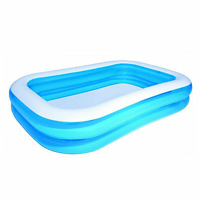 """Swimming Pool Garden Outdoors Inflatable Paddling Family Sized Bestway 130""""x69"""""""