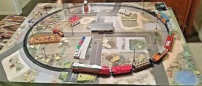 Tyco Railroad Empire Electric Train Set Vintage Working Collectable With Box and
