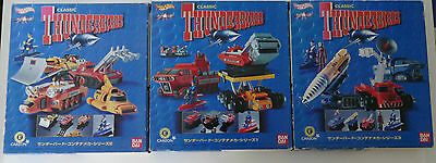 Hotwheels Thunderbirds CWUE Complete Set Vol1, Vol2 and Vol3 BNIB from Japan.