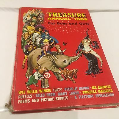 Treasure Annual 1969 For Boys And Girls