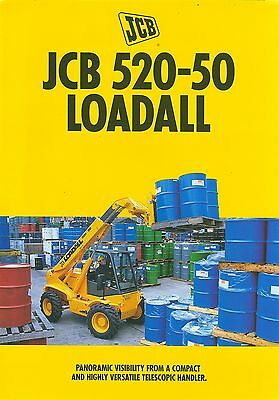 1997 Jcb 520-50 Loadall Brochure