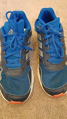 Boys blue adidas trainers. Size 4. Sport PE