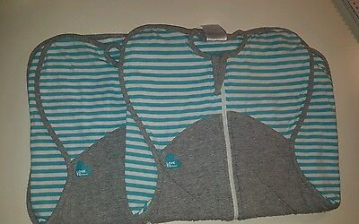 2 x Winter Warmers Love to dream swaddle wraps (small 3-6kgs) like new
