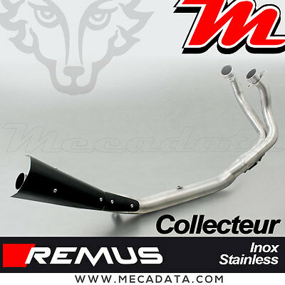 Remus Exhaust header Stainless Steel with CAT Honda CRF 1000 L Africa Twin 2016