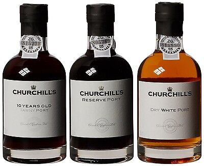 Churchill's Port Experience Wine 20 cl (Case of 3)