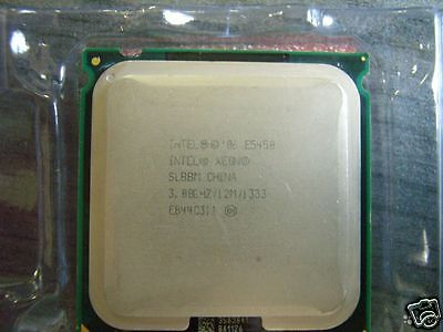 Intel E5450 3GHz 12MB 1333MHz Xeon SLBBM LGA 771/Socket J Server CPU