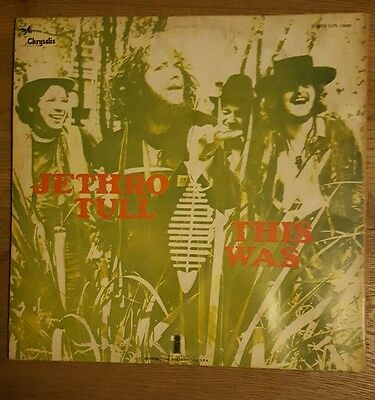 LP Jethro Tull THIS WAS   ITALY 1968 ILPS 19085