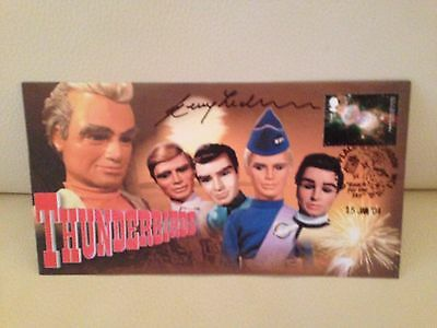 Thunderbirds First Day Cover Number 990 - Signed by the late GERRY ANDERSON